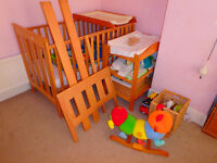 Change Table / Nappy Station - Freestanding