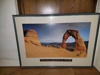 4 Large Framed Pictures