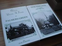 2 x Books by Alan Dumayne - Southgate SIGNED BY AUTHOR & Palmers Green