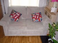 Two 2 seater settee's