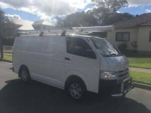 Ex Telstra Toyota Hiace LWB 2014 Automatic, Turbo diesel,  84,558 Lidcombe Auburn Area Preview
