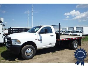 2015 Ram 3500 ST 4WD Regular Cab, 6.4L V8, 11,285 KMs, 12' Deck