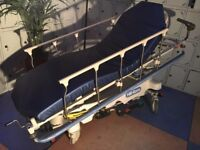 Hill-Rom Surgical Stretcher P8000/Hydraulic Patient Procedural Transfer Trolley