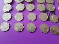 50p 50 pence fifty 71X limited edition 50p coins