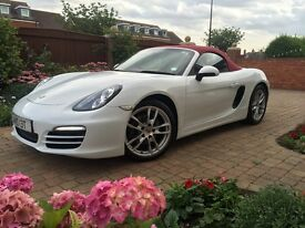 PORSCHE BOXSTER PDK AUTO 2.7 - 2014 - 14 PLATE - APPROXIMATELY £10K EXTRAS - IMMACULATE CONDITION