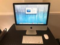 "20"" apple iMac 2009 model 2.66GHz 4GB RAM 320GB HD"