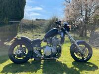 Suzuki GSF 600 Bandit hard tail low rider custom motorcycle