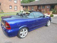 2005 Vauxhall Astra Convertible, Bertone Exclusive Edition Petrol 1.8