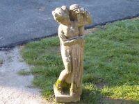 Vintage Greek Goddess Garden Ornament Garden Statue