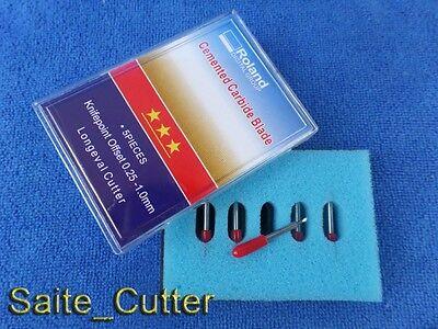 Hq 100 Pcs 45 Degree Roland Gcc Liyu Rabbit Cutting Plotter Vinyl Cutter Blades