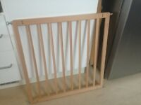 Stair gate. Pine. Brand new condition