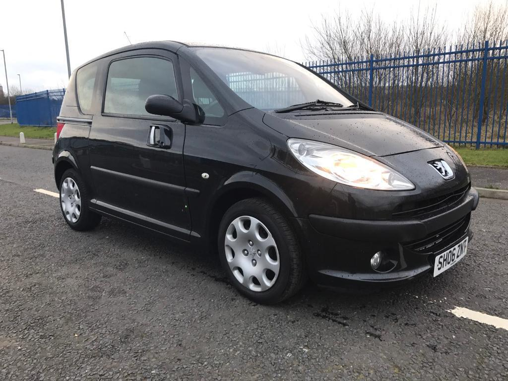 peugeot 1007 dolce 1 4 petrol semi automatic 2006 plate 650 no offers in paisley. Black Bedroom Furniture Sets. Home Design Ideas