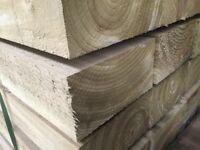 X50 softwood railway sleepers Pressure Treated