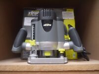 Router - Xtreme 1200w. Variable speed, soft start, accessories. VERY LITTLE USE