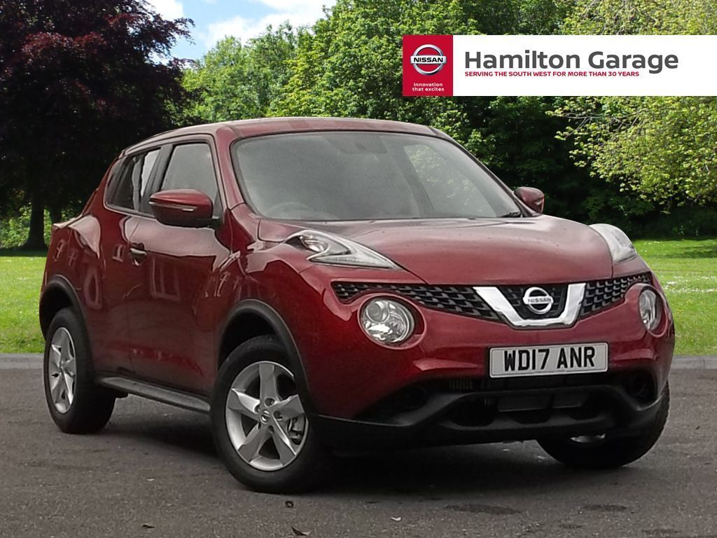nissan juke 1 5 dci visia 5dr magnetic red 2017 in. Black Bedroom Furniture Sets. Home Design Ideas