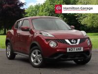 Nissan Juke 1.5 dCi Visia 5dr (magnetic red) 2017