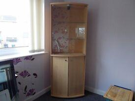 Very nice looking display cabinet.