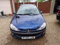 PEUGEOT 206 SW 1.4HDi VERY GOOD CONDITION! TAX £30! NEW REAR AXLE!!