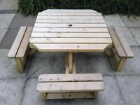 Garden furniture kiddies garden table