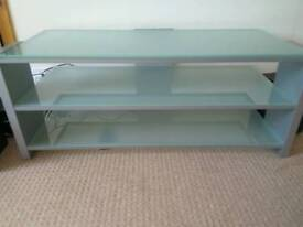 Beautiful glass TV stand