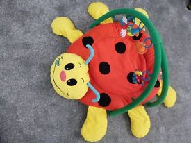 LADYBIRD ACTIVITY PLAYMAT, original packaging. EXC CONDITION. Offer if buy with another. May deliver