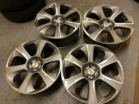 "x4 22"" Range Rover Style Alloys Vogue Sport Discovery Vw Amarok Transporter"