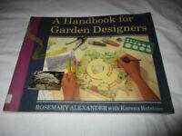 A Handbook for Garden Designers by Rosemary Alexander, Karena Batstone...P/Back