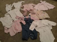 3-6 months baby girls clothes