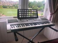 Yamaha electric piano with stand