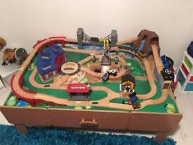 Universe imagination train table