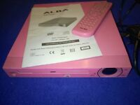 PINK ALBA SLIMLINE DVD PLAYER