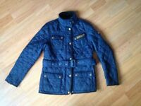 Ladies Barbour Jacket - Navy - Size 10