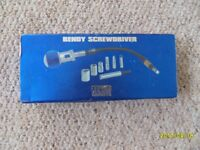 Bendy Screwdriver Set