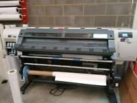 Hp latex l25500 60 inch printer with rip and media