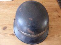 WW2 original German Luftschutz helmet.