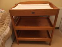 Wooden Changing Table - BARGAIN