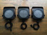Stairville LED Flood Panel 150 Lighting DMX Par Can x 3 Bands, DJ, Weddings