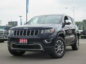 2015 Jeep Grand Cherokee Limited! 4x4! Touch Screen!