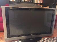 "LG 42"" Plasma TV with stand"