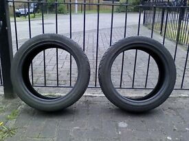 "16"" Tyres, part used Infinity and Michelin tyres, plenty of tread, £20 for set of 2"