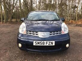 Nissan Note 1.4 16v Acenta very Low Mileage