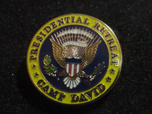 Presidential camp david  Lapel Pin