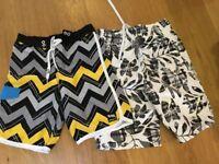 Boys Summer Surf Shorts Boden Primark Age 14 Gents XS