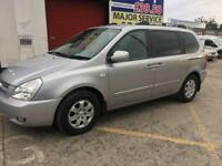 2008 KIA SEDONA DIESEL AUTOMATIC, 7 SEATER, 94K MILES, PARKING SENSORS, GOOD CONDITION