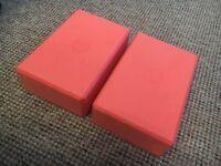 2x Brand New Yoga Blocks