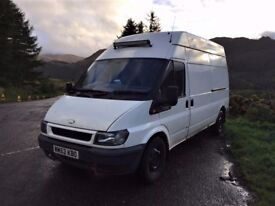 Ford Transit Campervan Hi Top Converted into Stealth Van