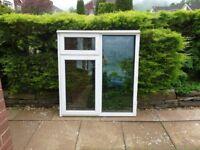 Everest White Double Glazed Window