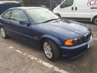 BMW 3 SERIES - AUTOMATIC PETROL 70,000 MILES - EXCELLENT CONDITION NEW TYRES (GBP1,500 ONLY)