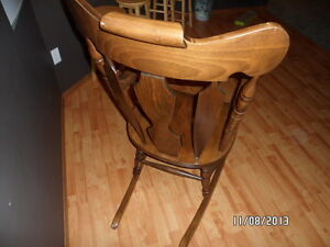 solid wood rocking chair Strathcona County Edmonton Area image 4
