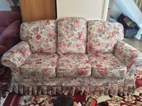 3 Seater Sofa And Sofa Set ( With FREE delivery within Oxford ) very good condition